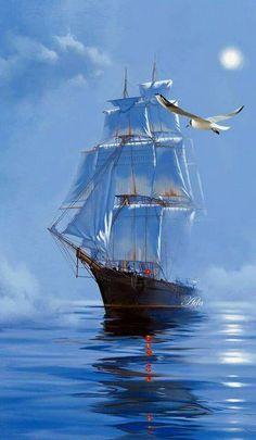 barcos two tone hair color ideas for short hair - Hair Color Ideas Art Postal, Old Sailing Ships, Ship Drawing, Ship Paintings, Boat Art, Tug Boats, Ship Art, Tall Ships, Lighthouse