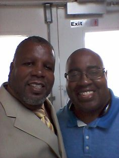 With Pastor Freeman Williams great teacher of the Bible.