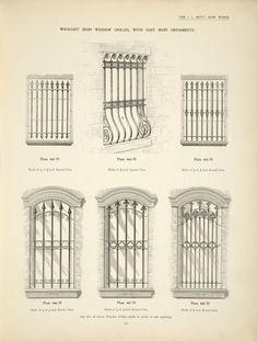 1800 window iron - Google Search