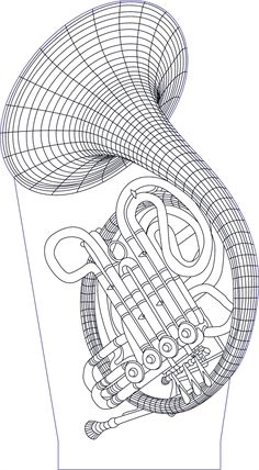 3D illusion tube premium vector drawing