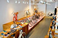 Adeline, Adeline // simple, modern Tribeca bike shop that caters to women