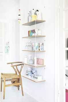 Une maison décorée avec du blanc et des couleurs pastel - FrenchyFancy