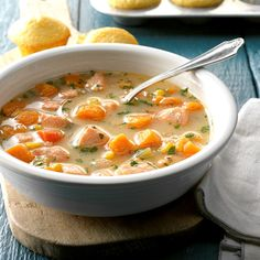 Skip the soup aisle—this recipe is easy and delicious! We'll show you a homemade cream of chicken soup that's even better than the can. Slow Cooker Recipes, Crockpot Recipes, Soup Recipes, Cooking Recipes, Salmon In Slow Cooker Recipe, Recipies, Salmon Recipes, Fish Recipes, Seafood Recipes