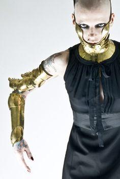 Manuel Albarran Metal Couture