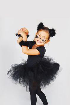cute diy little girl kitty halloween costume - Cat Costume Ideas Halloween