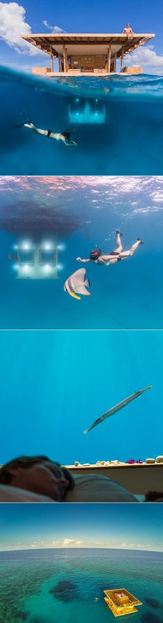 exPress-o: Underwater Hotel Room