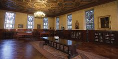 Baylor University's Armstrong Browning Library, one of the 50 most beautiful college libraries in the world (click for more photos)