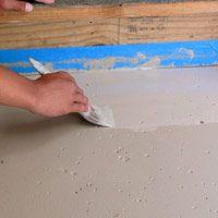 Painting basement concrete floors