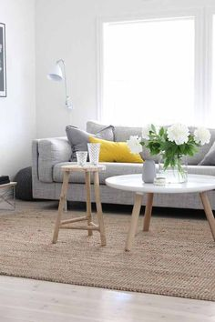 Ambientes eco con alfombras de fibra natural | Decoración