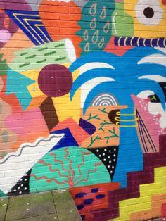 Tropical   #art #wallart #streetart #graffiti #street #manchester #north