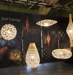David Trubridge stand at Design Junction, London Design Week 2013 | Remodelista