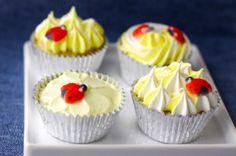 Cupcakes para babyshowers o mesas de postre @BabyCenter en Español @Pilar Diaz Suarez Hernandez