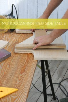DIY Moroccan-Inspired Side Table