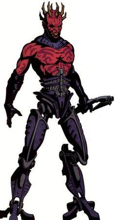 Darth Maul: Cyborg Darth Maul - Star Wars Visionaries #1