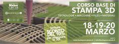 Corso stampa 3D_#hackspace #catania