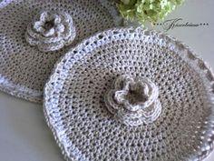 Topflappen Rose von White Roses auf DaWanda.com