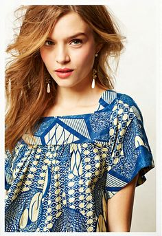 Anthropologie Spring Summer 2014 Collections: Doreen Mashika and millecollines #Tanzania #Rwanda #AfricanPrint