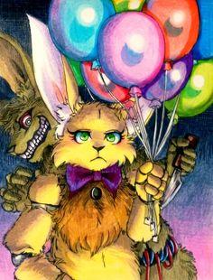 Springs / FNaF von Mizuki-T-A. Fanart, Fnaf Characters, 2 Kind, Fnaf Drawings, Fnaf Sister Location, The Bonnie, Anime Fnaf, Rpg Horror Games, Freddy S