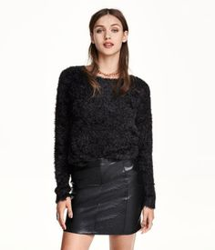 H&M Imitation Leather Skirt $24.99