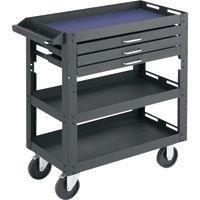 Northern Industrial Tools 3-Shelf, 3-Drawer Work Cart