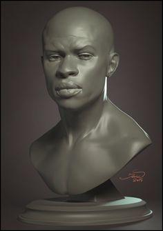 ArtStation - afro, Sergey Katcykov