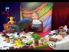 Шьем старинный головной убор и делаем ларчик из остатков текстиля. Масте... Création  d'un chapeau de forme raffinée et d'un coffre en tissu