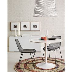 Kitchen table for corner by window? odysseywhitediningtblJL14