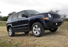 Trail Rated 2016 Patriot is all Jeep every day and every place