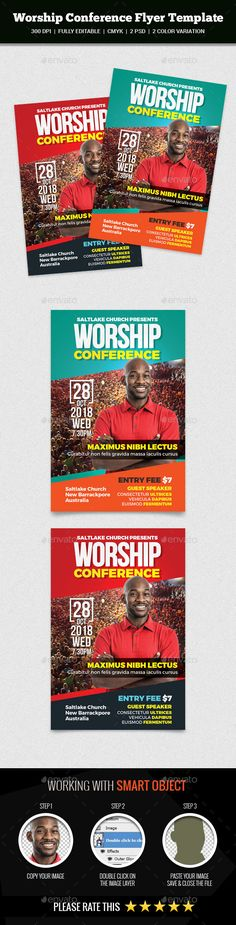 Leadership Conference Flyer Flyer template, Template and Print - conference flyer template