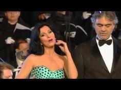Angela Gheorghiu and Andrea Bocelli sing Libiamo ne'lieti calici from Ve...