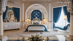 Luxury House Interior Design Tips And Inspiration Mansion Bedroom, Mansion Interior, Luxury Homes Interior, Luxury Home Decor, Unique Home Decor, Home Bedroom, Royal Bedroom, Creative Decor, Home Interior