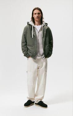Khaki Jacket, Rain Jacket, Windbreaker, Winter Jackets, Fashion, Winter Coats, Moda, Winter Vest Outfits, Fashion Styles