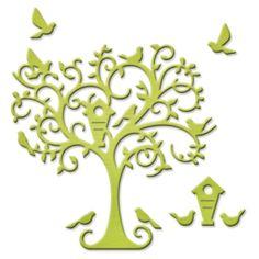 Spellbinders Shapeabilities Die D-Lites - Delightful Tree (S2107)