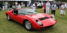 1967 Lamborghini Miura Coupe at Greenwich Concours