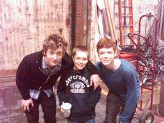 Jeremy Allen White, Cameron Monaghan & Ethan Cutkosky