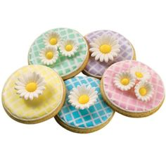 How to make Upsy Daisy Cookies.