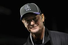 DENVER, CO - APRIL 17: Starting pitcher Jamie Moyer #50 of the Colorado Rockies returns to the field for an interview after he became the oldest player in the major leagues to earn a win as the Rockies defeated the Padres 5-3 at Coors Field on April 17, 2012 in Denver, Colorado. (Photo by Doug Pensinger/Getty Images)