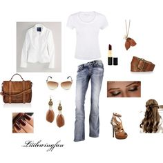 Casual, created by littlewingfan on Polyvore