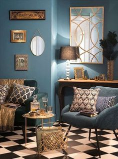 ideas art deco interior living ideas art deco interior living room artThe Art Deco movement that started in the and continued into the and .The art deco movement, which Room Decor, Decor, Interior Design, House Interior, Interior Deco, Living Room Decor, Trending Decor, Interior, Art Deco Living Room