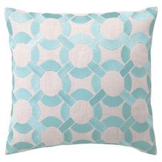 Bring an eye-catching pop of pattern to your bed or sofa with this stylish pillow from D.L. Rhein.   Product: PillowC...