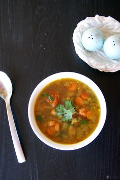 An extremely easy to make, healthy and hearty Mixed Vegetable Soup done the Indian way.
