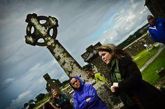 Tour guide. Cashel. Ireland