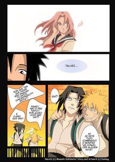 "Image - ""Naruto Konoha High School"" -Chapter One (Page Anime Naruto, Naruto E Sasuke, Yandere Anime, Animes Yandere, Kakashi Hokage, Naruto Family, Naruto Couples, Anime Couples Manga, Cute Anime Couples"