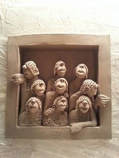Ans Vink – Skulpturen – Keramik – Source by Ceramic Figures, Clay Figures, Pottery Sculpture, Sculpture Clay, Ceramic Clay, Ceramic Pottery, Ceramic Sculpture Figurative, Sculptures Céramiques, Inspiration Art