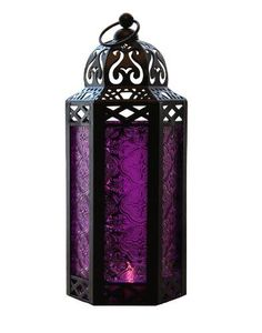Elegant Purple Table/hanging Hexagon Moroccan Candle Lantern Holders GiftGuys http://www.amazon.com/dp/B00B3KOODU/ref=cm_sw_r_pi_dp_B4Pyub0V6N0X6