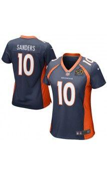 NFL Women's Denver Broncos Von Miller Orange Super Bowl 50 Bound ...