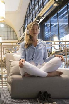 Lululemon opens first meditation space