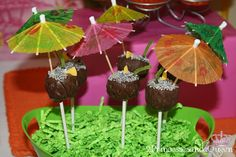 Coconut Drink Cake Pops