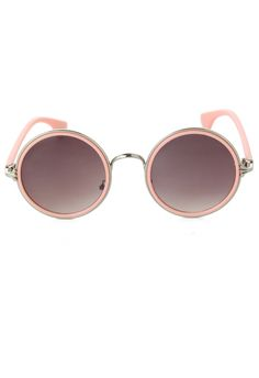 Macaron Color Round Sunglasses - Accessory - Retro, Indie and Unique Fashion