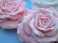 Rose Flower Silicone Soap Mold Candle Plaster Resin by grandhorse, $28.50